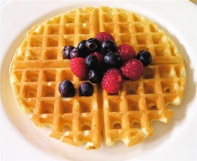 Classic Waffles Recipe — Dishmaps
